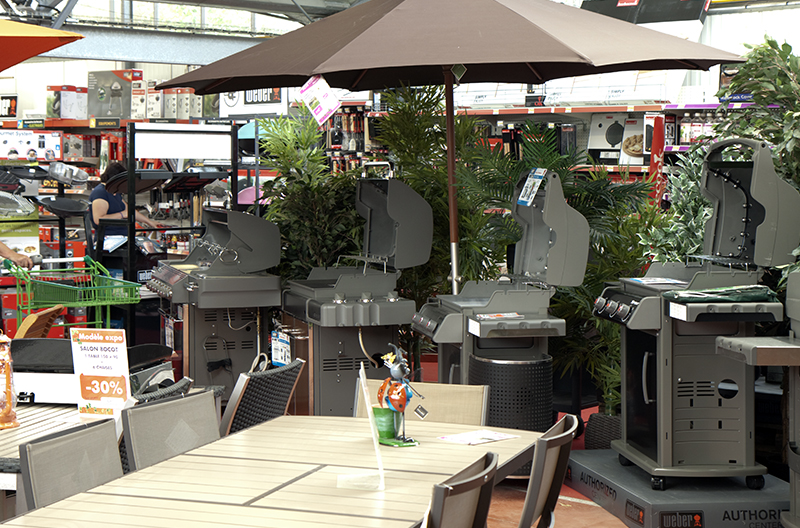 Jardinerie Derly Eure rayon barbecue