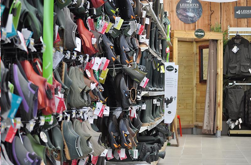 textiles et chaussures  Jardinerie Derly