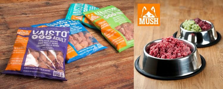 Alimentation BARF : produits Mush - Jardinerie Derly